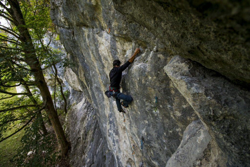 Klettern lernen am Fels. Kletterkurs Outdoor. Kursübersicht KletterPuls